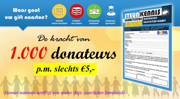 1000 donateurs