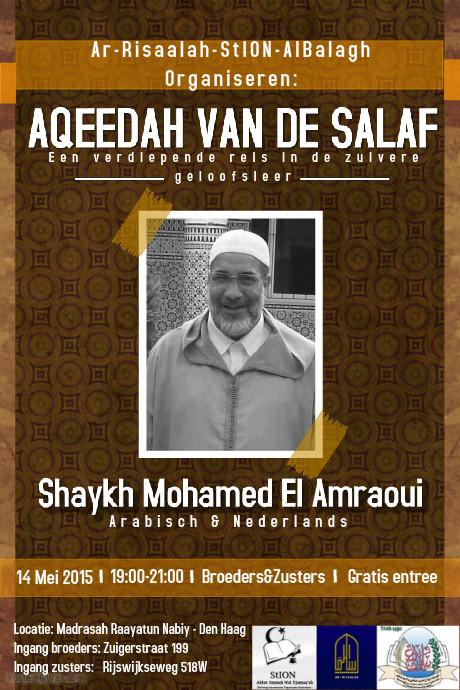 Lezing Sheikh al Amraoui