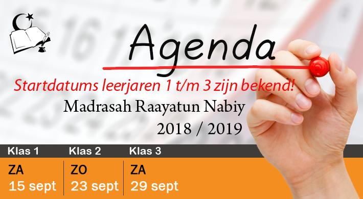 MRN 2018 startdatums