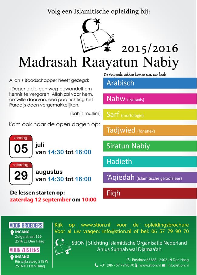 Poster Madrasah 2015